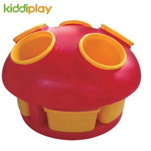 Plastic Multifunctional Mushroom Toy Shelf