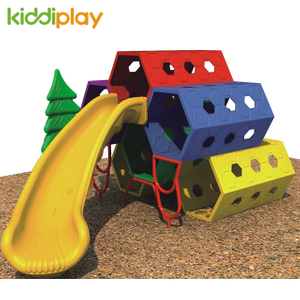 High Quality Kids Game Plastic Climbing Slide