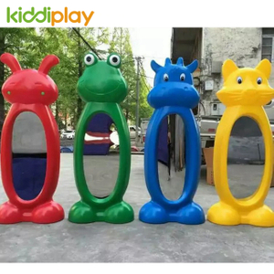 NEW kids magic animal distorting mirror