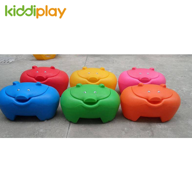 Lucky Pig Plastic Toy Box for Children